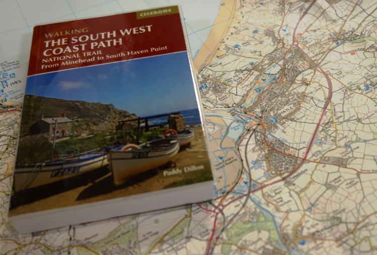 A Cicerone guidebook for the South West Coast Path